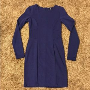 H+M   Midi Fitted Dress